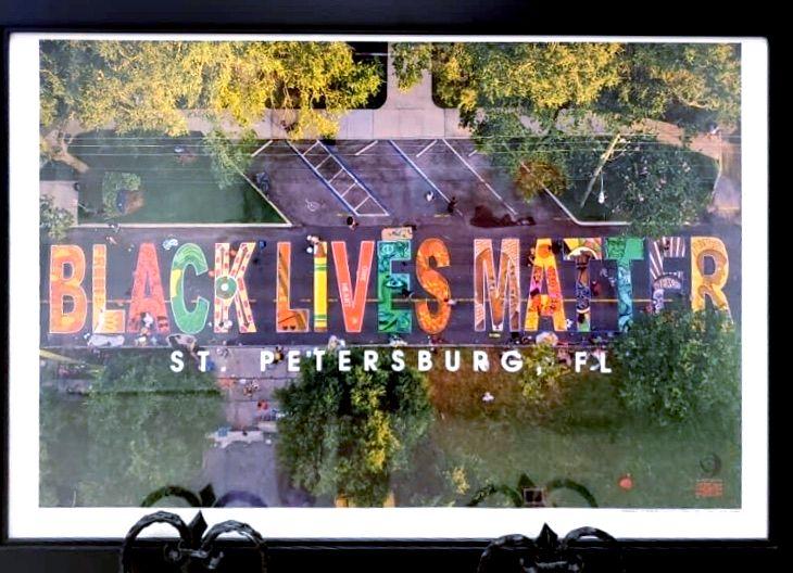 Black Lives Matter Mural Printout
